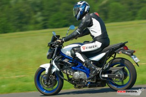 Suzuki Gladius 650 - motocykl egzaminacyjny