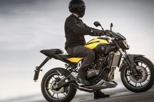 Yamaha MT-07 - motocykl egzaminacyjny